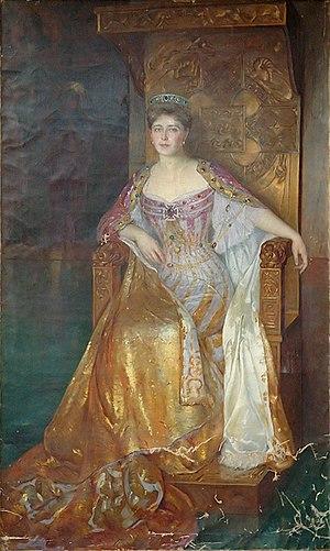 Română: Pierre Bellet (1865-1924) - Regina Maria.
