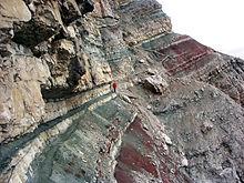 In den Ampezzaner Alpen unterhalb der Punta Anna