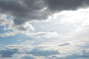 Sky cloudy