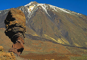Teide (Tenerife). The third largest volcano in...