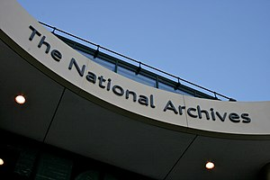 The National Archives, Kew, London.