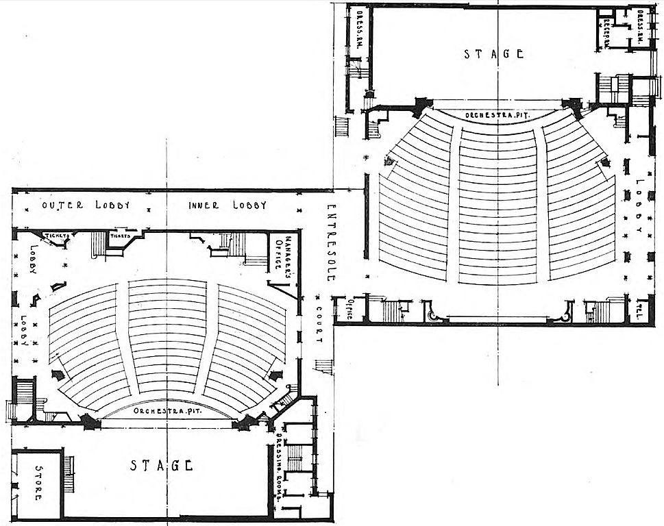 FileTimes Square and Apollo theaters first floor plan
