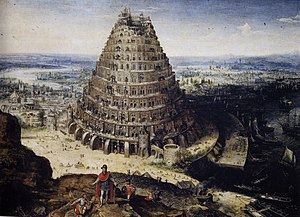 Tower of Babel by Lucas van Valckenborch in 1594