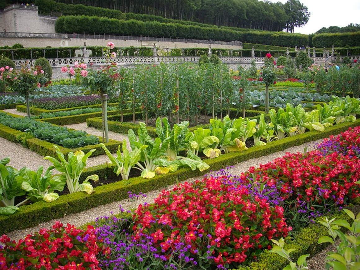 French Potager Garden