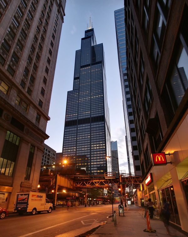 Willis Tower Night