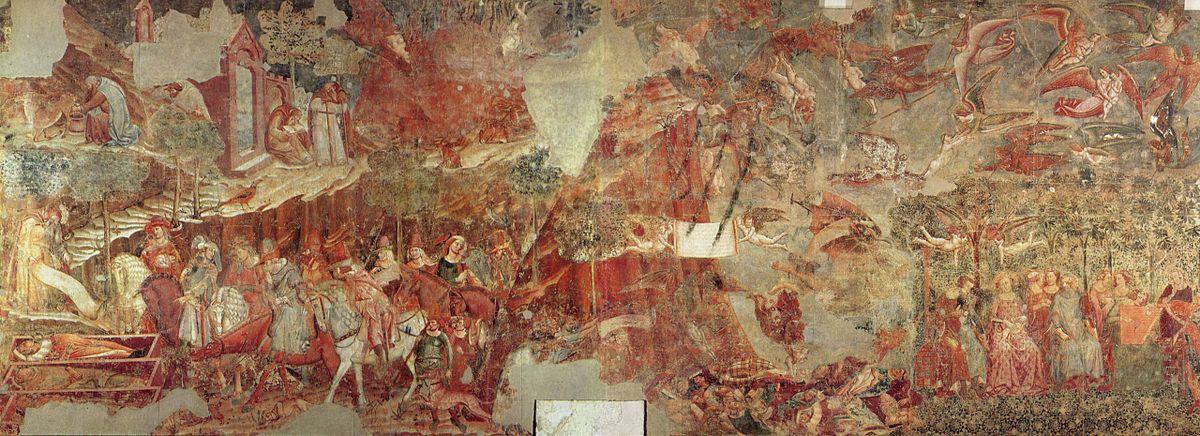 Trionfo della Morte Buffalmacco  Wikipedia