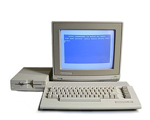 Commodore 64C system with 1541-II floppy drive...