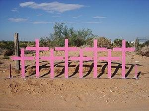 Cruces colocadas en Lomas del Poleo Planta Alt...