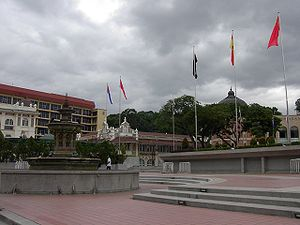 Dataran Merdeka (Independence Square) in centr...