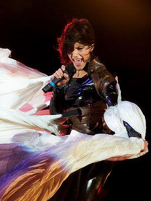 Elisa during the Mechanical Dream Tour, Milan ...