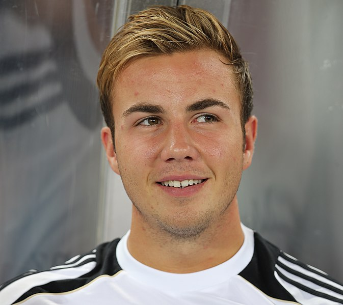 Mario Gotze Hairstyle And Haircut Pictures Style Tutorial
