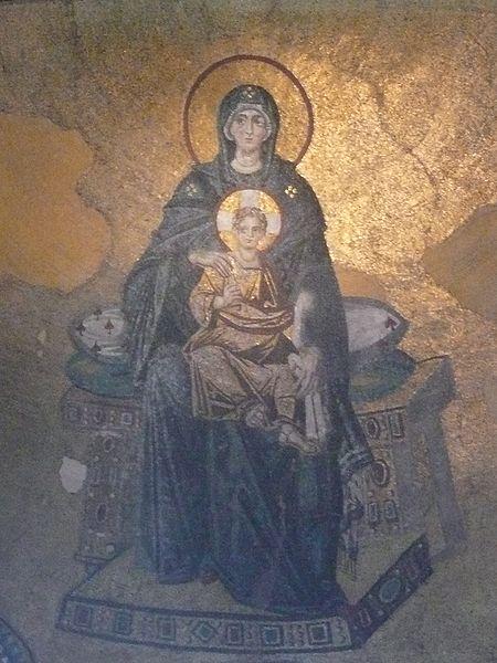Madonna z Dzieciątkiem, Hagia Sophia