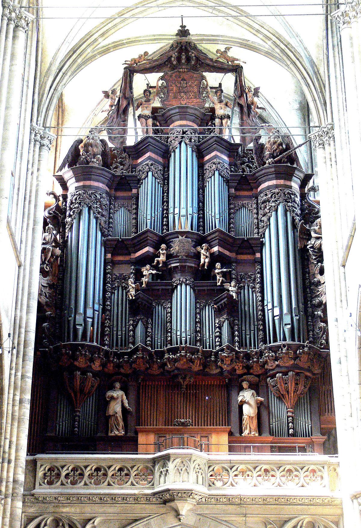 Organo del duomo dei Santi Stefano e Sisto ad Halberstadt  Wikipedia