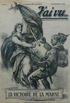 Date Bataille De La Marne : bataille, marne, Bataille, Marne, (1914), Wikipédia
