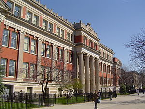 This is Lincoln Park High School (Chicago, IL,...