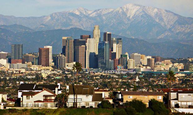 Los Angeles Skyline telephoto