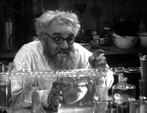 Screenshot from the public domain films Maniac...