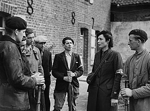 Members of the French resistance group Maquis ...