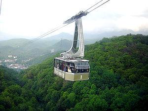 Ober Gatlinburg aerial tramway.
