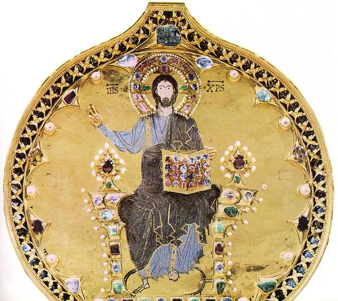 detal ze Złotego Ołtarza, bazylika św. Marka, Wenecja