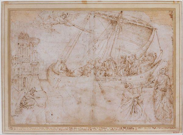 Disegno Della Navicella Di Giotto - Wikipedia