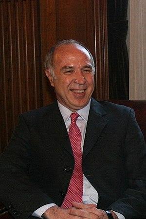 Presidente de la Corte Suprema Ricardo Lorenze...