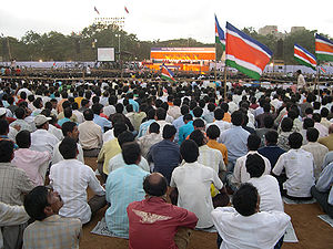 Maharashtra Navnirman Sena rally at Shivaji Pa...