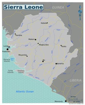 Sierra Leone  Wikivoyage guida turistica di viaggio