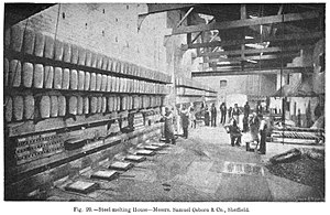 English: Steel melting house where was made cr...