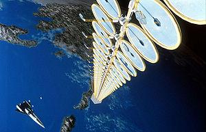 solar panel array wiring diagram ge refrigerator space based power wikipedia