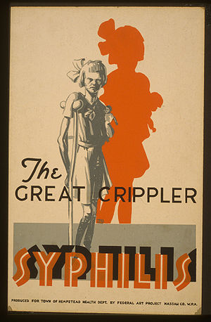 The great crippler - syphilis, original file, ...