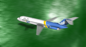 English: Last second of ValuJet Flight 592 ill...