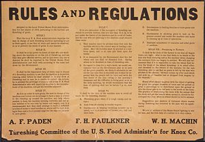 """""""Rules and Regulations...Threshing Commit..."""