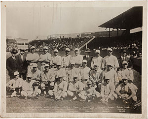 1918 Boston Red Sox at Fenway Park