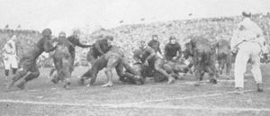 English: A play from the 1922 Rose Bowl