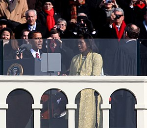 Barack Obama 2009 presidential inauguration