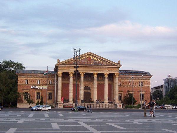 Hall of Art Budapest Hungary