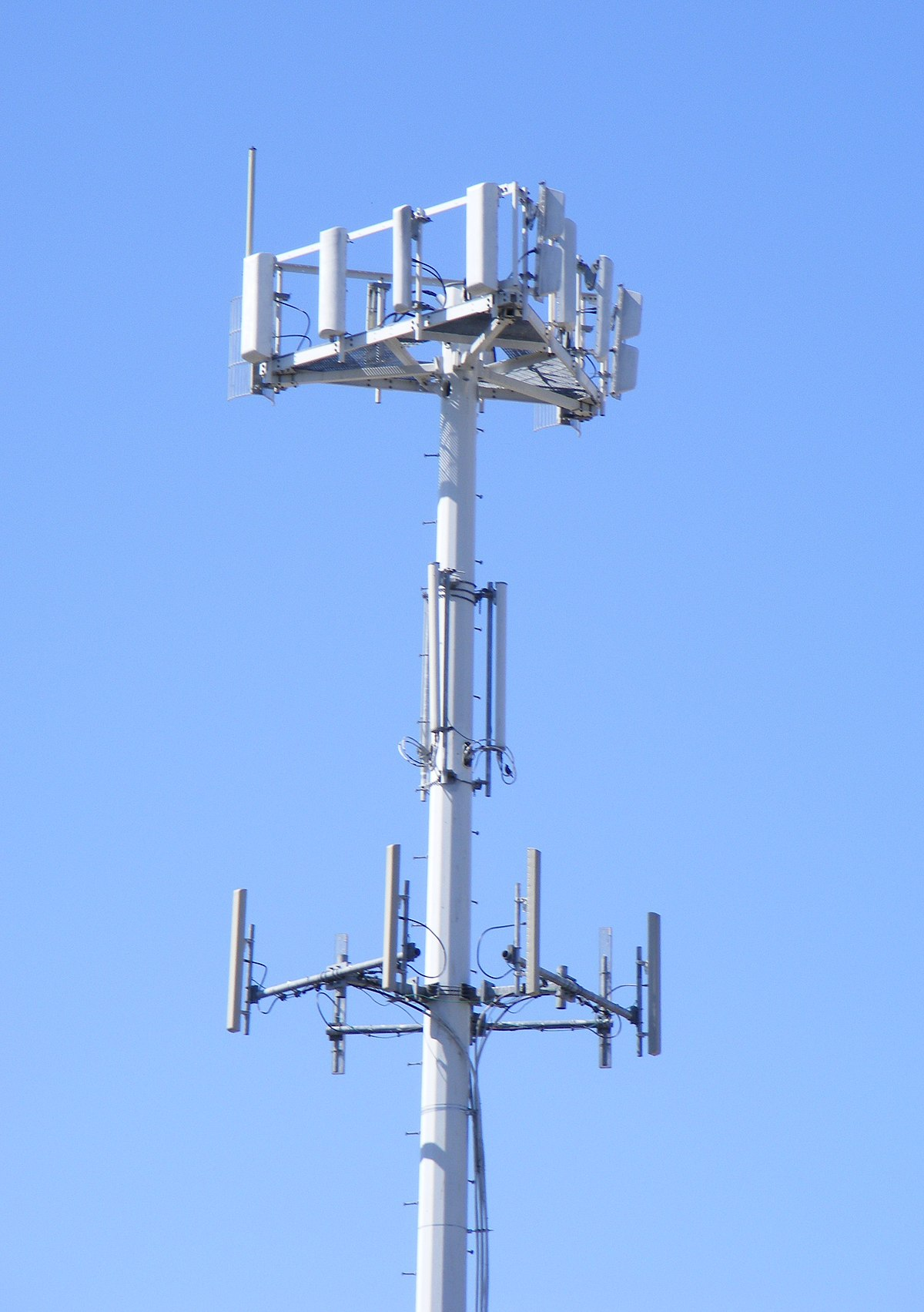 hight resolution of diagram of a cell site