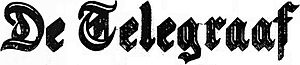 De Telegraaf, logo.