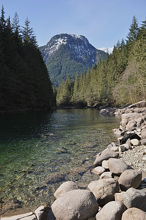 English: Evans Peak, Golden Ears Provincial Pa...