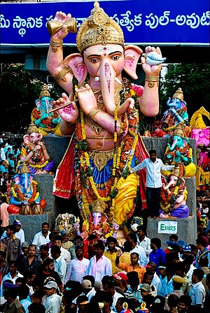 Ganesh festival in India