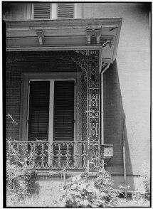 Historic Front Porch Railing