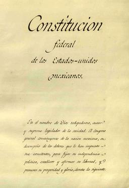 Introduccion Constitucion de 1824