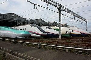 English: Public opening day at Niigata Shinkan...