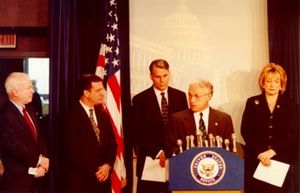 Congressman Jim Greenwood joins (left to right...