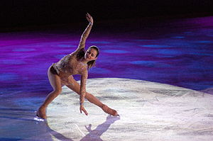 Sasha Cohen at Skating Club of Boston's Ice Ch...