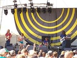 I Tame Impala al V Festival a Perth nel 2009.