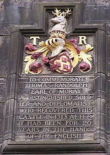 Thomas Randolph 1st Earl of Moray  Wikipedia