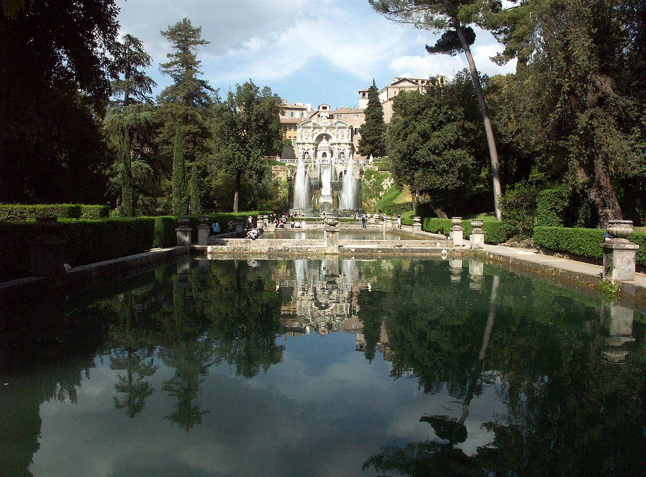 FileTivoli Villa dEste Querachse mit Neptunbrunnen und Wasserorgel 1jpg  Wikipedia