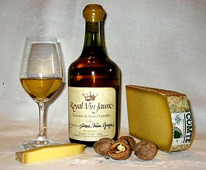 """Vin Jaune (""""yellow wine"""") of Jura, F..."""